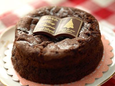 カフェーパウゼのチョコレートケーキ