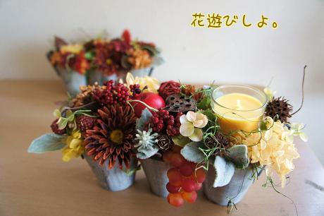 お花のキャンドル1