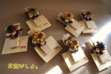 種の花のクリップ