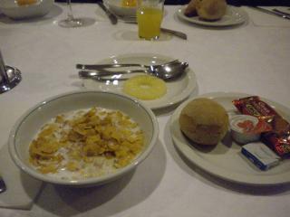 ミラノ 朝食