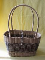 エコクラフト…松葉編みのバッグ
