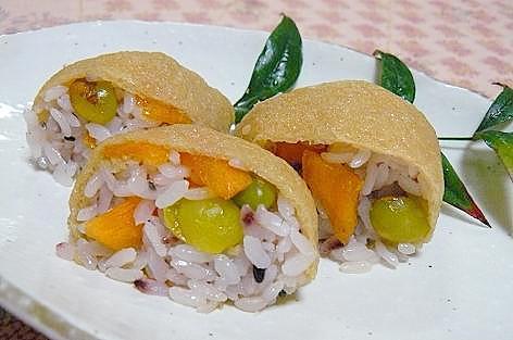 南関揚げ巻き寿司♪