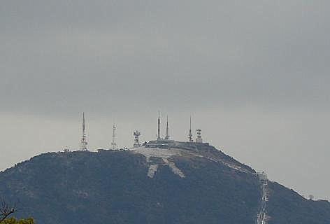 雪の皿倉山♪