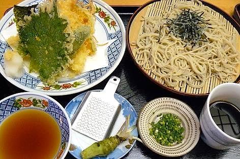 天ぷら蕎麦~♪