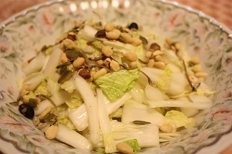 白菜サラダ♪