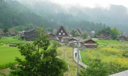 白川郷 風景