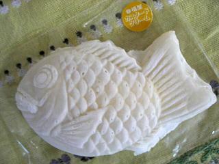 平成21年8月23日白い鯛焼き
