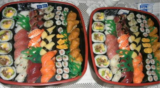 平成21年8月30日寿司