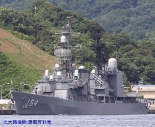 舞鶴基地の護衛艦あまぎり 1