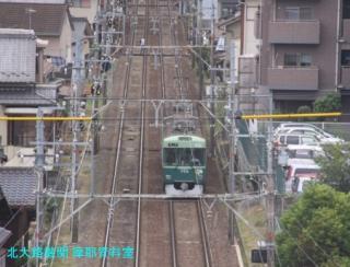 京阪 石山坂本線に新しい大津祭ラッピング電車 5