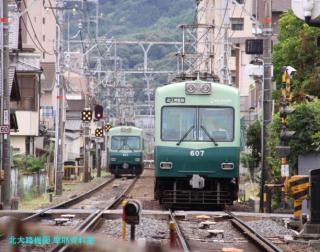 京阪 石山坂本線に新しい大津祭ラッピング電車 8
