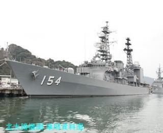舞鶴基地の護衛艦あまぎり 5