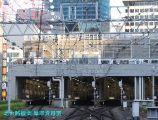 阪急電車の夕方と逆光 10