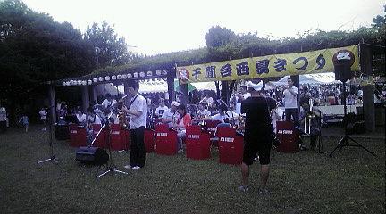 夏祭り・バンド