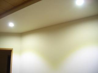 電気工事 寝室 ダウンライト