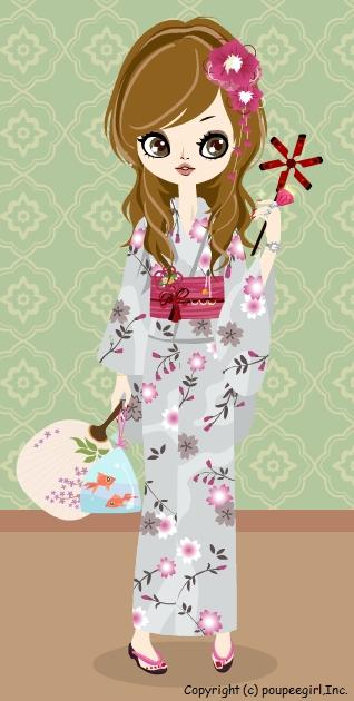 浴衣/初桜