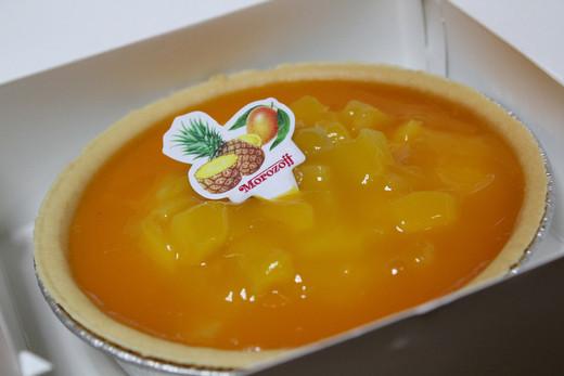 マンゴーとパイナップルのチーズケーキなのだ!