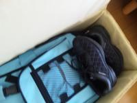 非常持ち出し袋と靴