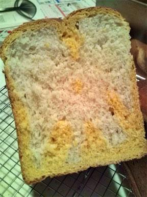 人参食パン断面