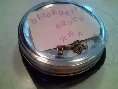 ブラックベリーソース