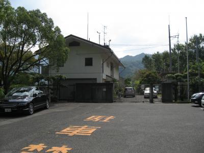 滝畑ダム管理事務所前001