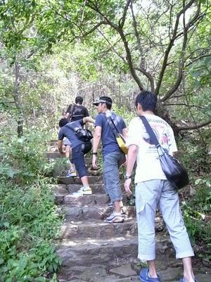 203高地登山