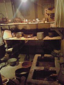 昔の炊事場