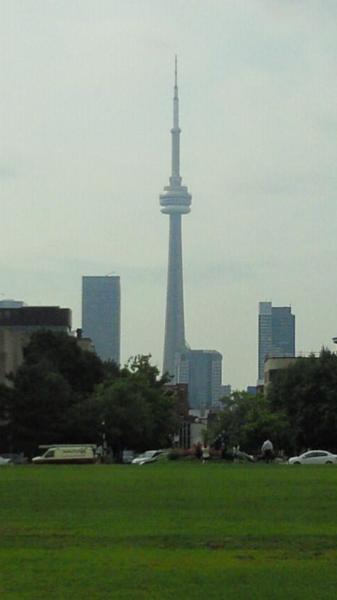 カナダ CNタワー1
