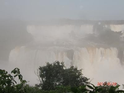イグアス二段滝