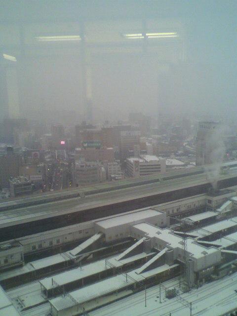 マリオス20階からの冬景色