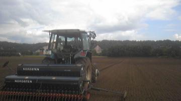 小麦播種ノードストン
