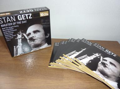 Stan Getz 『Master of the Sax(Membran 10cd)』