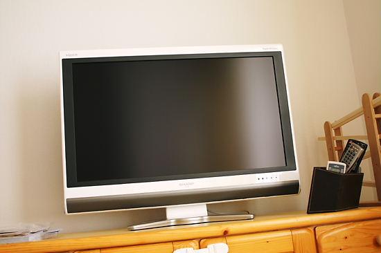 新しいテレビがきました!