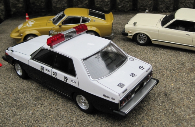 アオシマジャパンパトカー