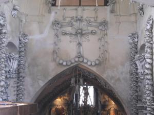 墓地教会(納骨礼拝堂)入口