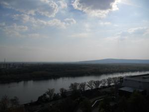 ブラチスラヴァ城から見たドナウ川