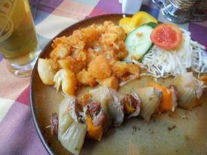 SLOVENSKA RESTAURACIAでスロヴァキア料理
