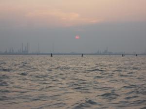 ベネチアの夕日