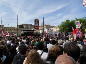 リソルジメント広場/P.za del Risorgimento