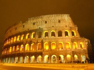 夜のコロッセオ/Colosseo