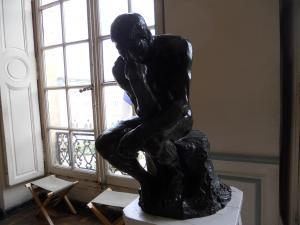 ロダン美術館内側/Musee Rodin inside