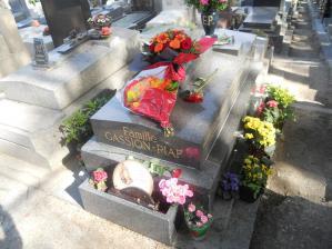 エディット・ピアフの墓/The grave of Edith Piaf
