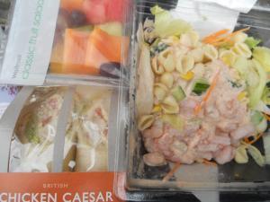 ウェイトローズで買った昼ごはん/lunch bought in Waitrose