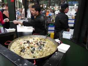 バラマーケットにてタイカレー/Thai Curry in Borough Market