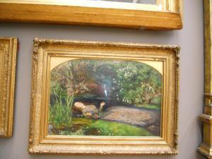 テート・ブリテンのオフィーリア/Ophelia in Tate Britain