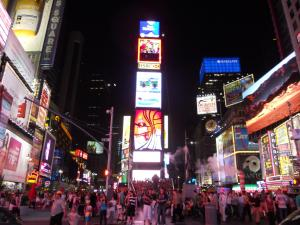 タイムズ・スクエア/Times square
