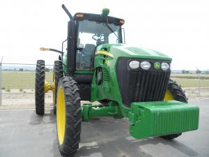 GPS付きトラクター/A tractor with GPS