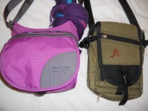 前のバッグと新しいバッグ/Old bag and new one