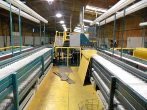 玉ねぎのパッキング工場/Onions packing factory