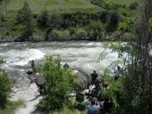 ラピッド川/Rapid river